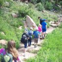 Junior hiking